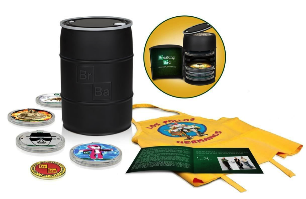 Breaking Bad Barrel: The Complete Series Barrel