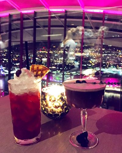 sky garden drinks